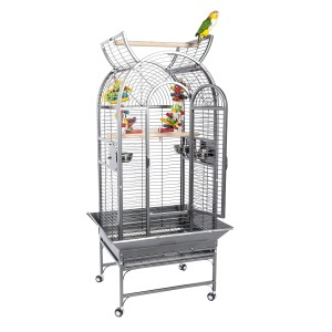 Voliere für Papageien